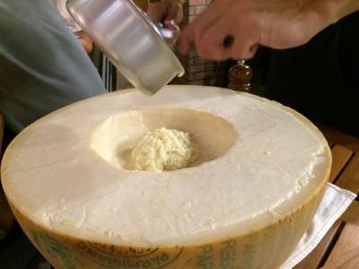 バルミジャーノチーズのリゾット1