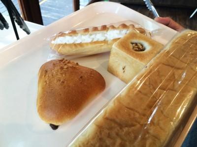 山のパンで購入したパン