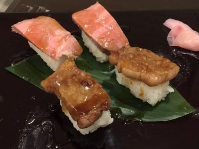 『ローストビーフ』『和牛サーロイン』の寿司