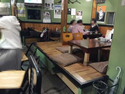 小太郎テーブル席