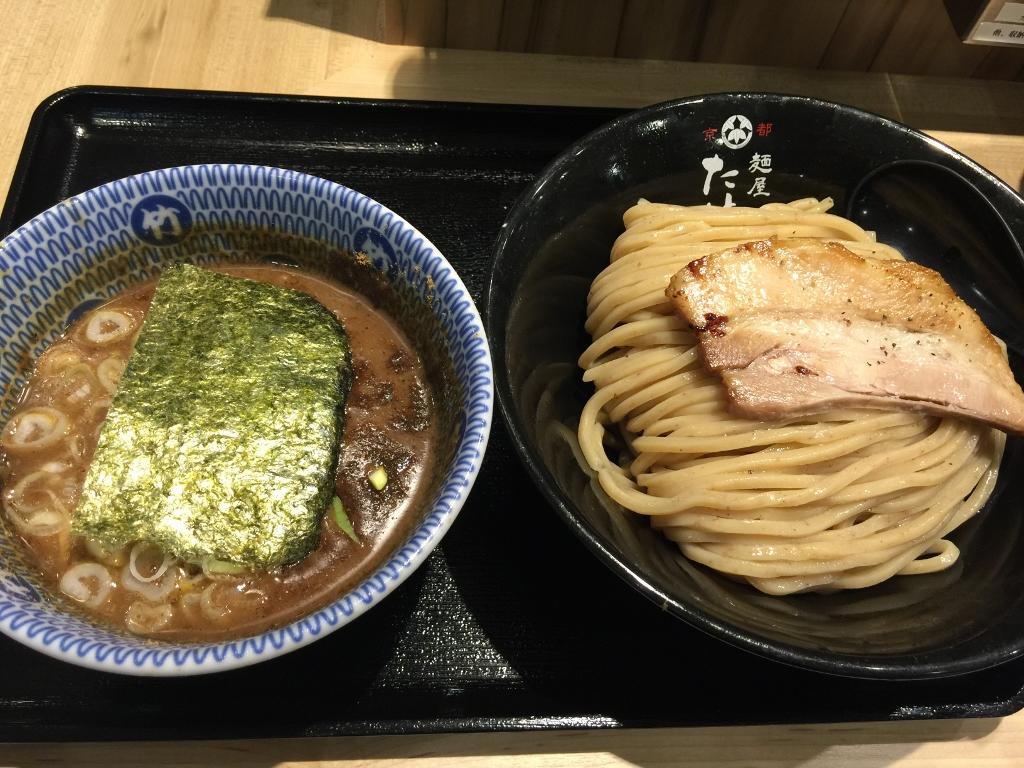 麺屋たけ井阪急梅田駅店・濃厚豚骨魚介つけ麺