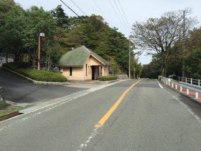 通天湖・遊歩道入口のトイレ