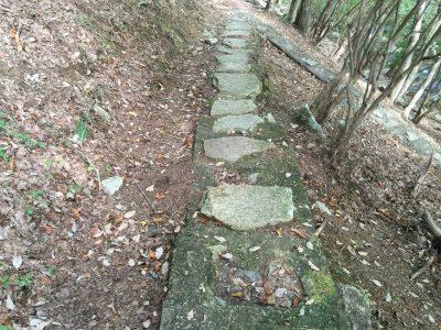 渓流歩道へのスロープ
