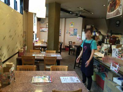 『ほこ~魚菜と地酒~』店内