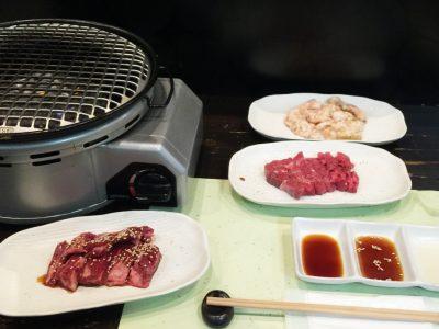 焼肉エイト・バル3品