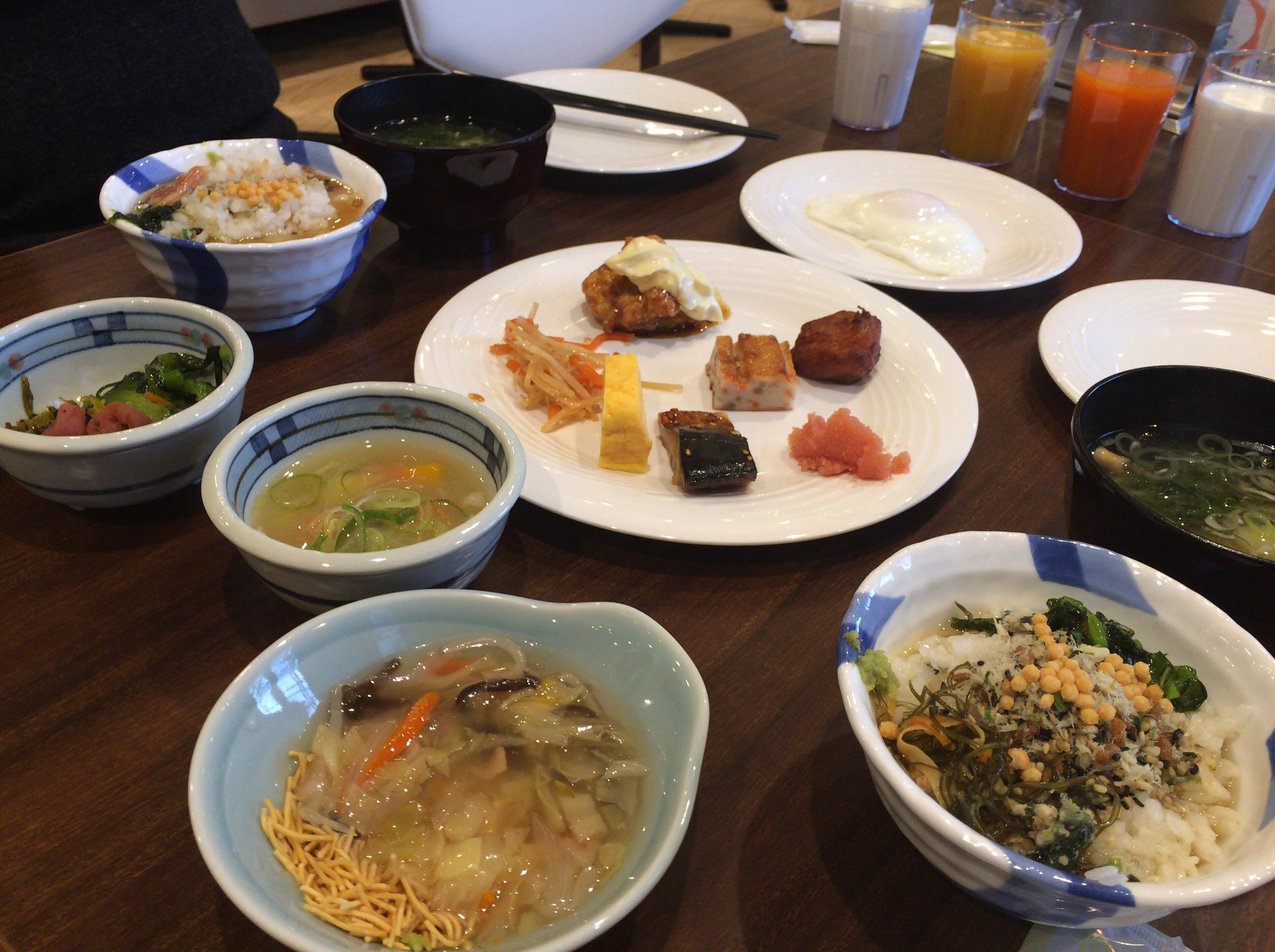 ホテルFORZA(フォルツァ)長崎の朝食バイキング