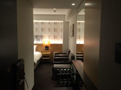 ホテルFORZA(フォルツァ)長崎・デラックスダブル入ってすぐ