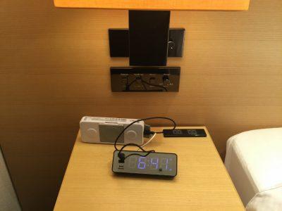 「Bluetooth(ブルートゥース)ワイヤレス防水スピーカー」「目覚まし時計」