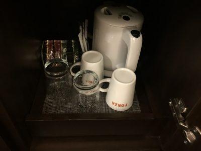 紅茶と煎茶は無料
