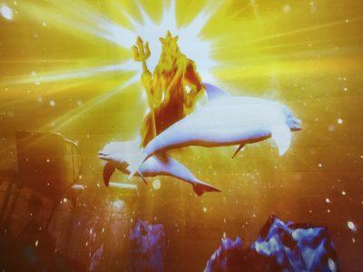 海の神ポセイドン