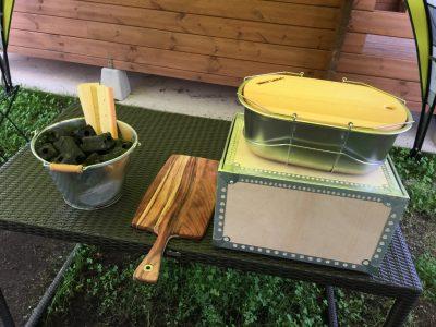 調理用器具・食器類・炭