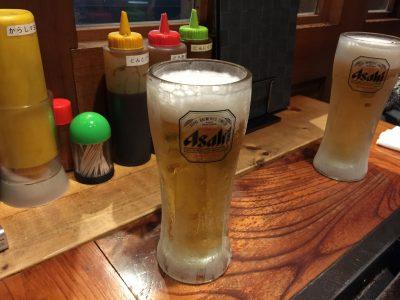 よく冷えた生ビール