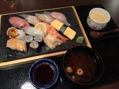本日の寿司・十貫盛り合わせ