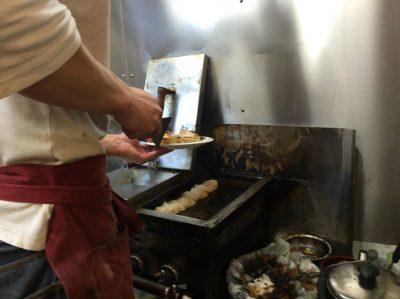 イチロー餃子焼き上がり