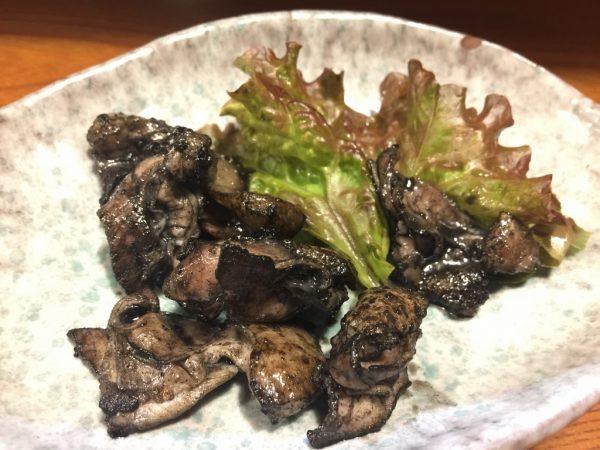 みやざき地頭鶏・炭火焼きハラミ