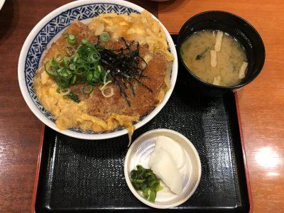 タイムサービス「かつ丼」500円