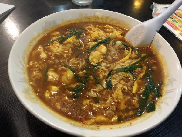 カレー×辛麺「カレ麺」
