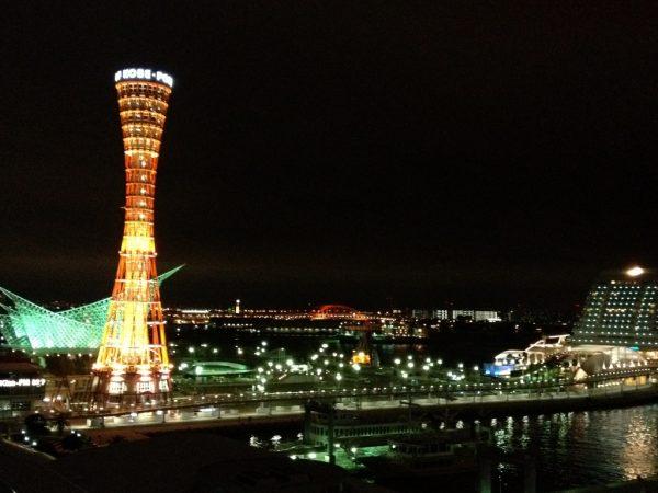 ホテル ラ・スイート部屋からの夜景
