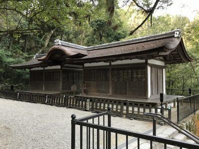 出雲建雄神社拝殿