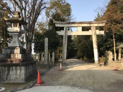 大和神社・一の鳥居