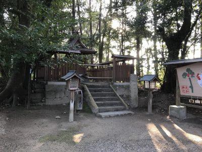 増御子神社・拝殿