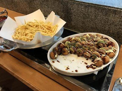 揚げたこ焼き・ポテト
