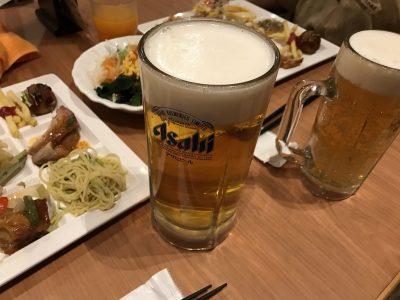 生ビール 大ジョッキ・中ジョッキ