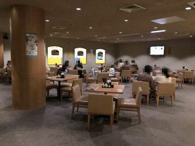 角ハイボール麺酒場「天」の席数は少ない