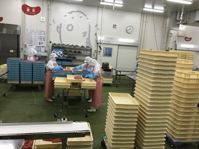 明太子製造工場