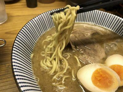 美與志堂の麺