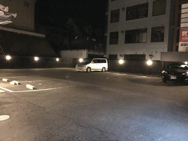 だしと麺・駐車場