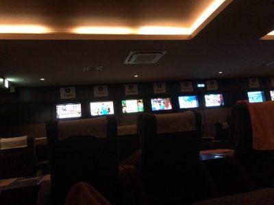 レストルームのテレビ