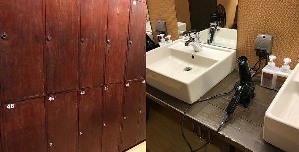 脱衣所と洗面所