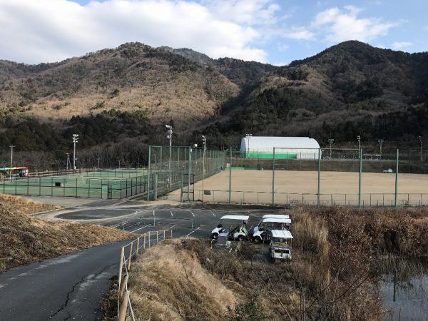 ホテル施設(グラウンド・テニスコート・多目的ドーム)