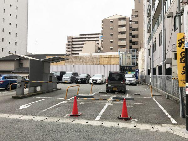 11台分の駐車場
