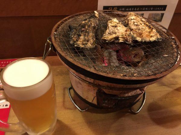 さばさば「糸島産焼き牡蠣」