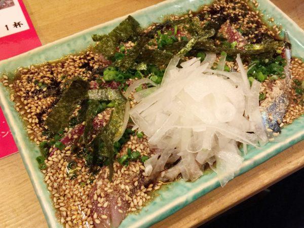 博多青魚 さばさば「胡麻鯖(」