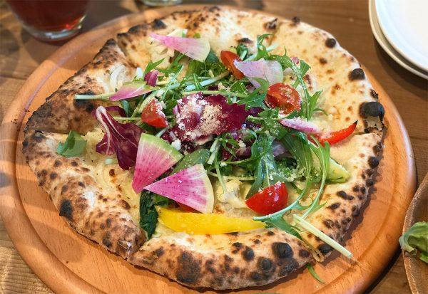 10種野菜のピザ