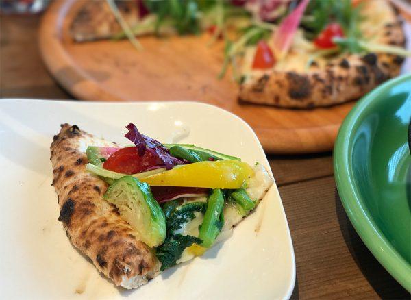 10種野菜のピザ・1ピース