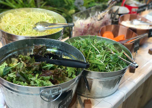 神戸野菜のサラダバー