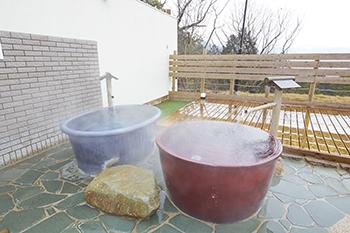 天然温泉・壺湯