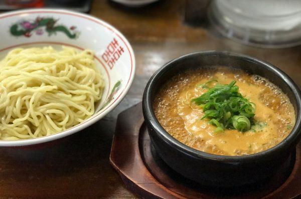 つけ麺(胡麻味噌)ぴり辛