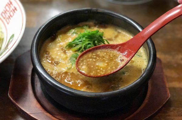 胡麻味噌スープ