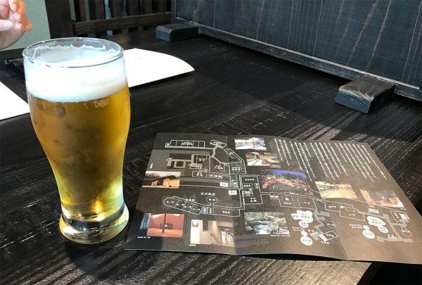 ビール(サントリー ザ・プレミアムモルツ)樽生グラス