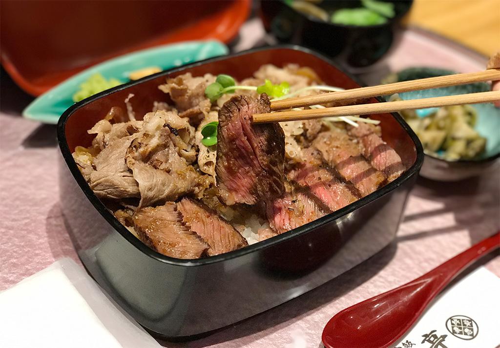 ビフテキ・肉飯 ロマン亭錦重