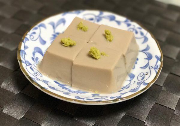 丹波黒豆・胡麻豆腐