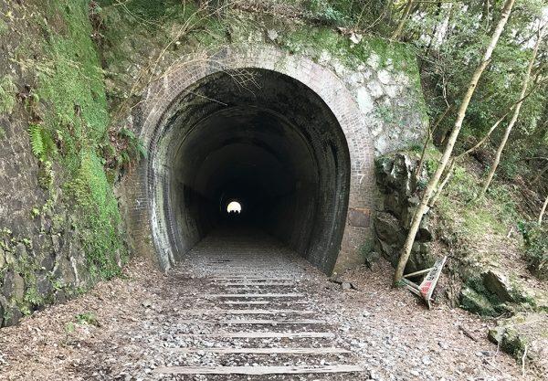 2番目のトンネル(蹄型)