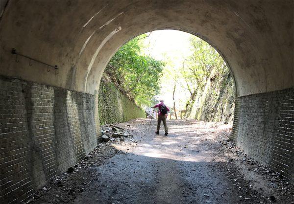 2番目トンネル出口