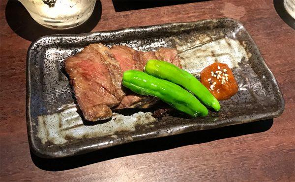 厚切り熟成肉の西京焼き