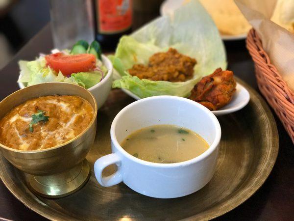 ランチ・マサラカリー+キーマ・ダル(豆)